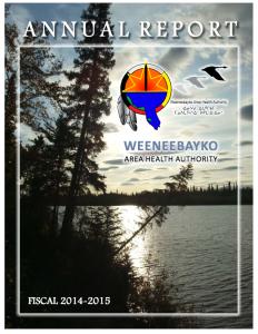 2014-2015 WAHA Annual Report