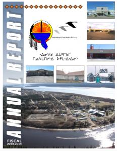 WAHA Annual Report 2013-2014 Cree