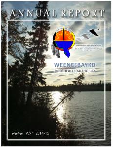 WAHA Annual Report 2014-2015 Cree
